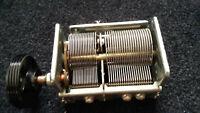 Schaub Lorenz Balalaika 59 Dreh- Kondensator 2-Fach  variable capacitor