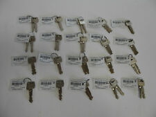 LOCKSMITH LOT OF 20 MADE FOR FORD CARS KEYS w/ KEY CODE NUMBERS