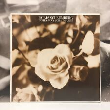 PALAIS SCHAUMBURG - PARLEZ-VOUS SCHAUMBURG ? LP EX-/EX+/NM 1984 GER 822 415-1 Q