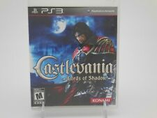 CASTLEVANIA: LORDS OF SHADOW (Sony PlayStation 3, 2010) Complete w/ Manual WORKS