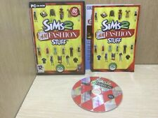 The Sims 2 H&M Fashion Stuff PC Game Expansion Pack Boxed + Manual