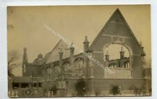 (Ld5410-183) Grignon Hall Felsted School Essex Fire Damage Ruins, 1930 Used VG+