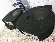 AXTON AXB20STP Aktiv Bass Subwoofer  AUTO KFZ  Reserverad Mulde & Kabelset NEU