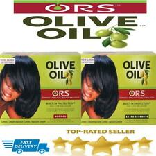 ORS Organic Root Stimulator Olive Oil Hair Relaxer NoLyeKit E.Strength Normal