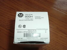 NEW! Allen-Bradley(AB) 800H-HP2KB6MXXX Selector Switch Type 7&9,2 position