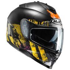 CASCO HELMET CAPACETE MOTO INTEGRALE HJC IS 17 SHAPY YELLOW ORANGE OPACO TG M
