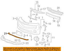Chevrolet GM OEM 10-13 Camaro Front Bumper Grille-Air Deflector 92234404