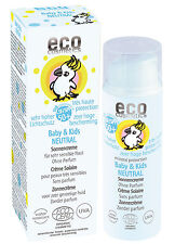 Eco Cosmetics Baby & Kids Sonnencreme Neutral LSF 50+ 50ml-Naturkosmetik