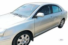 DTO29353 Wind deflectors fits TOYOTA AVENSIS 4 Door Saloon 03-09 4pc TINTED HEKO