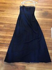 Davids Bridal Bridesmaid Prom or Formal Dress Size 8 Strapless Polyester F1717