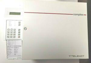 Einbruchmeldeanlage Complex 200 der Firma Telenot + BT 400 Bedienteil ,unbenutzt
