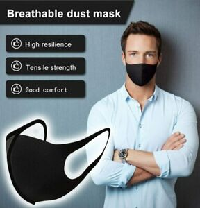 Washable Unisex Face Mask Mouth Masks Protective Reusable -EXPRESS POST