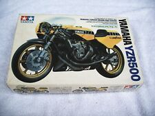 TAMIYA 1/12 YAMAHA YZR500 GRAND PRIX RACER KIT NO.1 - 1401 - KENNY ROBERTS