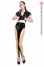 Latex Leggings mit Zipper von LATEXA für SIE UND IHN - Größe zur Auswahl