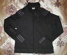 Adidas Brack & Black Stripes Tracksuit Jacket