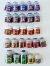 Citadel Paints 26 Pots Bundle - BRAND NEW - Warhammer AOS Age of Sigmar 40k