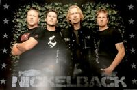 NICKELBACK 2006 ALL THE RIGHT REASONS TOUR OFFICIAL PROMO POSTER / NMT 2 MINT