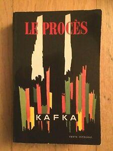 Frantz KAFKA - Le Procès - Le Livre de Poche - 1963