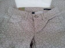 Benetton Ladies Girls Patterned Jeans - BNWT - Waist 26 Inches