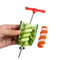 Gemüse Spirale Messer Carving Werkzeug Kartoffel Karotte Gurke Salat Chopper