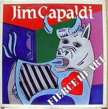 Jim Capaldi - Fierce Heart LP VG+ 80059-1 Vinyl 1983 w/Van Morrison