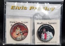 Elvis Presley Concert Coin Collection First Las Vegas and Madison Square Gardens