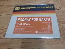 HOORAY FOR EARTH - TRUE LOVES !! RARE CD PROMO!!!!!!