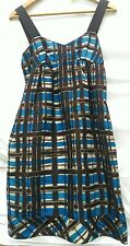 SILK, CHECKED, JIGSAW DRESS SIZE 8