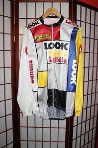 Look Lattella tour de France cycling jersey size XL .ALY