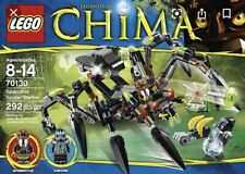 lego Legends Of CHIMA set 70130 pre-owned Sparratus Spider Stalker 100% complete