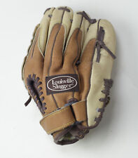 "Louisville Slugger Youth Baseball glove TLS1052P RH 10.5""  Tan & Cream Leather"
