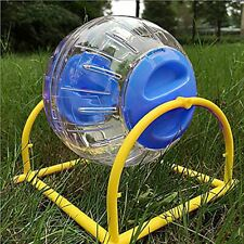 New listing Hamster Running Ball Grinder Small Pets Gerbil Rat Activity Exercise Balls Cage