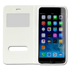 IPHONE Phone Cover Case White Case for Apple IPHONE 6 plus Bookstyle OME101K
