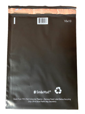Recycled Black Poly Mailers Plastic Envelopes Shipping Bags UpakNShip Expedited