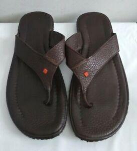 Hugo Boss Leather Flip Flops Sandals Slides Sz. US 9.5 EU 43