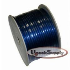 10 Ft 8 Gauge 10' Blue Power Ground or Speaker Wire Amp Power Car Audio