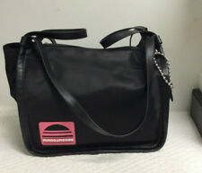 Marc Jacobs Sport Nylon/Leather Tote Love Key Chain Black NWT