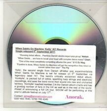 (CO136) When Saints Go Machine, Kelly - 2011 DJ CD