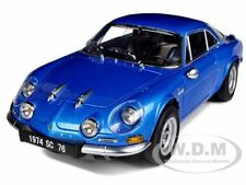 1974 RENAULT ALPINE A110 1600SC BLUE 1/18 DIECAST MODEL CAR BY KYOSHO 08482