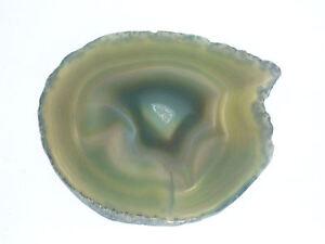 cristalloterapia PIETRA VIVA fetta AGATA VERDE ARCOBALENO cristallo feng shui