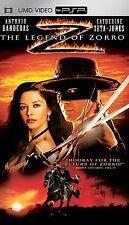RARE- LEGEND OF ZORRO (UMD-Movie,/PSP) ANTONIO BANDERAS & CATHERINE ZETA JONES