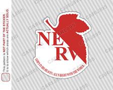 Neon Genesis Evangelion NERV Car/Truck Vinyl Bumper Sticker