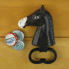 HORSE HEAD Cast Iron Figural Bottle Opener, Reproduction of Classic Opener NEW!