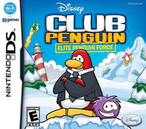 Club Penguin Elite Penguin Force Nintendo DS Complete