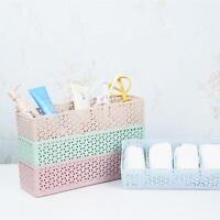 5 PILAS Plástico Organizador Caja Almacenaje lazo sujetador Calcetines Cajón
