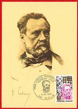 1973 - Fdc Carte 1°Jour**-Louis Pasteur -(39.Dole) Timbre - Yv.1768