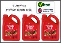 Vitax High Potash Liquid Tomato Feed Concentrate Fertilizer 6 Litre Pack Offer