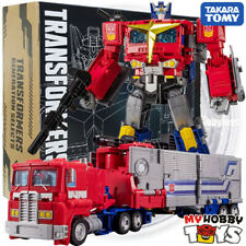 Takara Tomy Transformers -Generation Selects Star Convoy Optimus Prime w Trailer