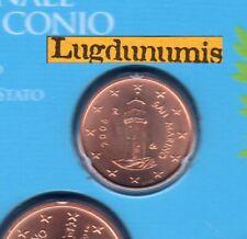 Saint Marin 2008 1 Centime D'Euro BU FDC 50000 exemplaires Provenant du BU RARE