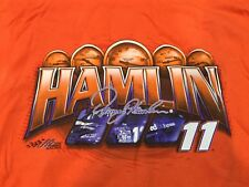 New listing NASCAR Denny Hamlin Fed Ex Racing Shirt Taking Care Of Business New Large